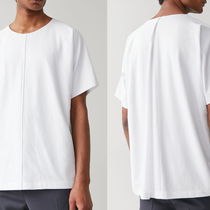 "COS(コス) Tシャツ・カットソー ""COS MEN"" LOOSE-FIT ORGANIC-COTTON T-SHIRT WHITE"