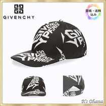 【GIVENCHY】ジバンシイ EXTREME LOGO CURVED PEAK キャップ