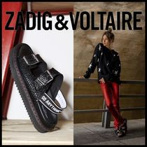 Zadig and Voltaire★Alpha Grunge Sandalsコンフォートサンダル