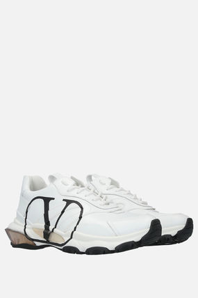 VALENTINO スニーカー 【VALENTINO】BOUNCE VLOGO SNEAKERS IN SMOOTH LEATHER(3)