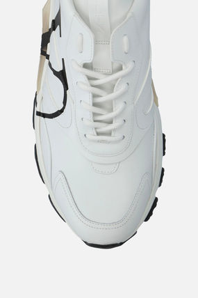 VALENTINO スニーカー 【VALENTINO】BOUNCE VLOGO SNEAKERS IN SMOOTH LEATHER(5)