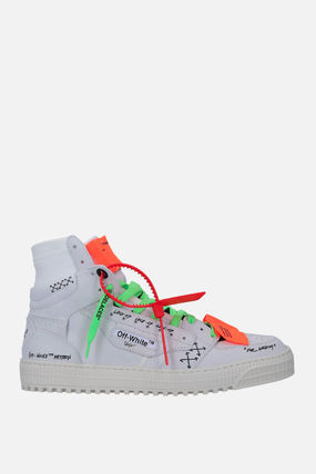 Off-White スニーカー 【Off-White】OFF COURT 3.0 SNEAKERS IN NABUK