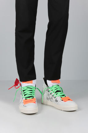 Off-White スニーカー 【Off-White】OFF COURT 3.0 SNEAKERS IN NABUK(2)