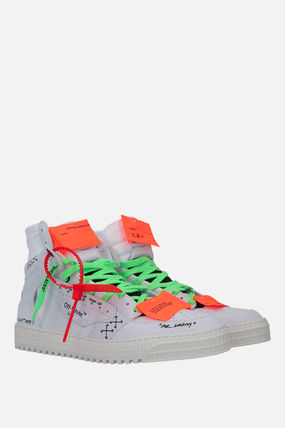 Off-White スニーカー 【Off-White】OFF COURT 3.0 SNEAKERS IN NABUK(3)