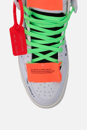 Off-White スニーカー 【Off-White】OFF COURT 3.0 SNEAKERS IN NABUK(5)