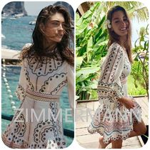 【ZIMMERMANN】 PEGGY MULTI SHORT DRESS