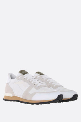 VALENTINO スニーカー 【VALENTINO】ROCKRUNNER CAMOUFLAGE FABRIC AND NAPPA SNEAKERS(3)