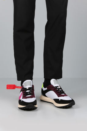Off-White スニーカー 【Off-White】ARROW SNEAKERS IN NYLON AND SUEDE(2)
