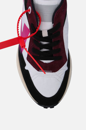 Off-White スニーカー 【Off-White】ARROW SNEAKERS IN NYLON AND SUEDE(5)
