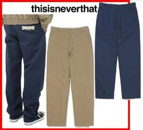 ★韓国の人気★【thisisneverthat】★Work Pant ★2色★
