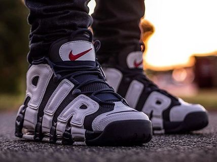 """Nike スニーカー 【2020年版】Nike Air More Uptempo """"Olympic"""" モアテン(2)"""