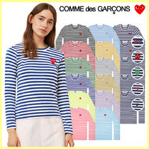 COMME des GARCONS レディース ボーダーTシャツ