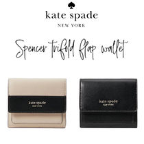 【kate spade】spencer trifold flap wallet 三つ折り財布