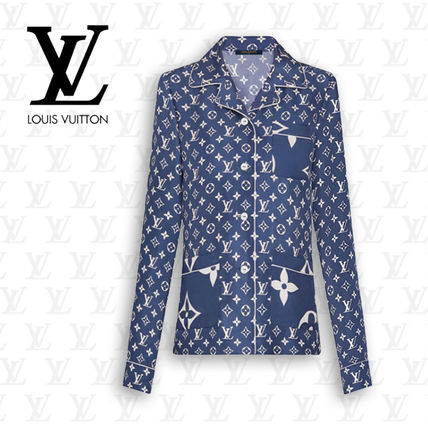 Louis Vuitton ルームウェア・パジャマ 【直営店買付】ルイヴィトン LVエスカル パジャマシャツ