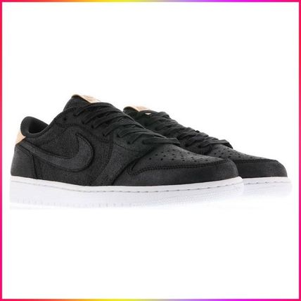 Nike スニーカー Nike Jordan 1 Retro Low OG Black Vachetta ジョーダン 1 ロー