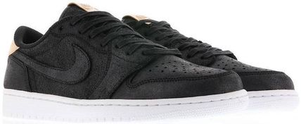 Nike スニーカー Nike Jordan 1 Retro Low OG Black Vachetta ジョーダン 1 ロー(3)