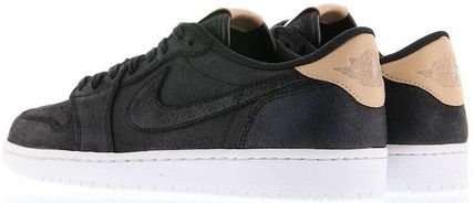 Nike スニーカー Nike Jordan 1 Retro Low OG Black Vachetta ジョーダン 1 ロー(6)