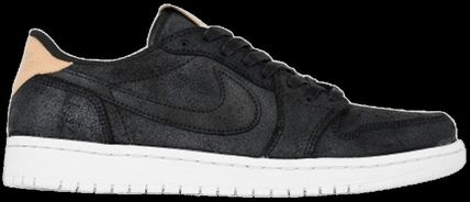 Nike スニーカー Nike Jordan 1 Retro Low OG Black Vachetta ジョーダン 1 ロー(7)
