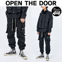 OPEN THE DOOR(オープンザドア) パンツ OPEN THE DOOR pocket jogger pants MH1418 追跡付