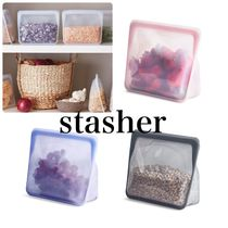 【stasher】reusable STAND-UP 再利用可能 シリコンバック