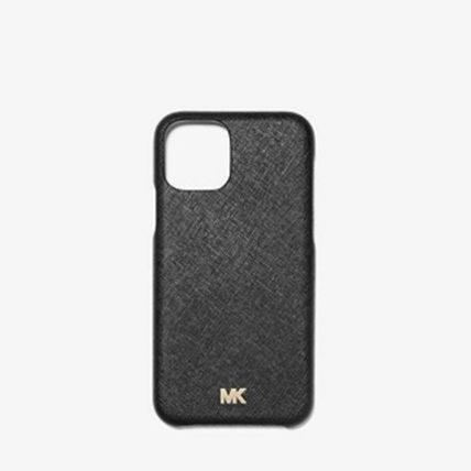 Michael Kors スマホケース・テックアクセサリー *国内発送* MK Saffiano Leather Phone Cover for iPhone 11(2)