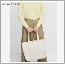 【MAISON KITSUNE】20SS  TOTE BAG RAINBOW PROFILE FOX バッグ