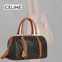 【CELINE】TRIOMPHE CANVASボストンバッグ