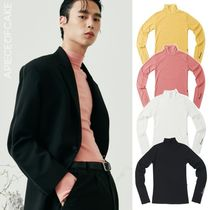 A PIECE OF CAKE★韓国★限定販売★Basic Polo Neck T-shirts
