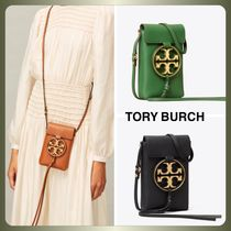 【Tory Burch】MILLER METAL-LOGO PHONE CROSSBODY