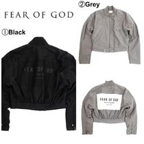 【FEAR OF GOD】☆大人気☆FOG 6TH COLLECTION BOMBER JACKET