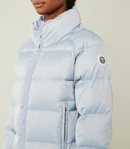 Tory Sport CROPPED PERFORMANCE SATIN DOWN JACKET