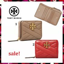 最終セール 新作 Tory Burch Kira Chevron Bi-Fold Wallet