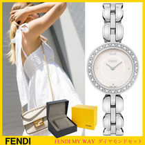 【SALE★レア☆SWISS製】FENDI My Way ダイヤモンドx24