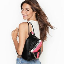 VICTORIA'SSECRET Logo Powered Small City Backpack ラブデコ