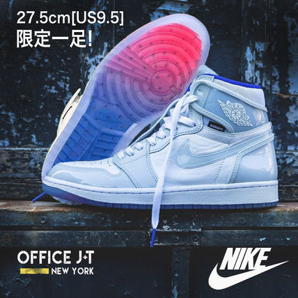 Nike スニーカー 数量限定★AIR JORDAN 1 HIGH ZOOM 'RACER BLUE'