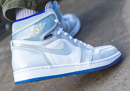 Nike スニーカー 数量限定★AIR JORDAN 1 HIGH ZOOM 'RACER BLUE'(6)