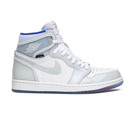 Nike スニーカー 数量限定★AIR JORDAN 1 HIGH ZOOM 'RACER BLUE'(8)