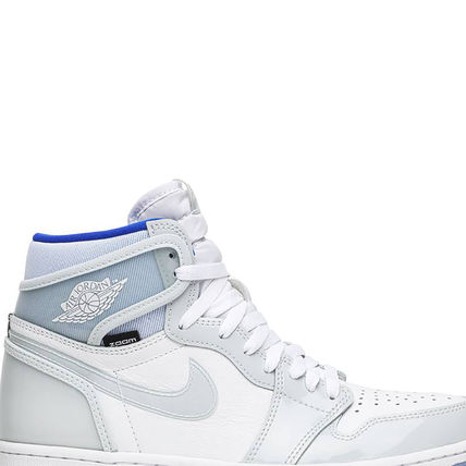 Nike スニーカー 数量限定★AIR JORDAN 1 HIGH ZOOM 'RACER BLUE'(9)