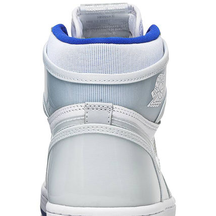 Nike スニーカー 数量限定★AIR JORDAN 1 HIGH ZOOM 'RACER BLUE'(12)