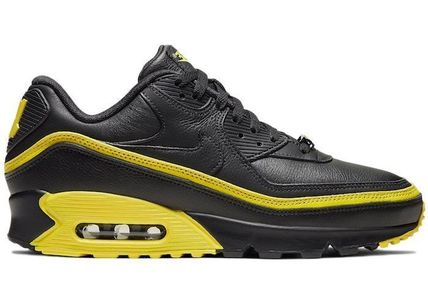 UNDEFEATED スニーカー Nike Air Max 90 Undefeated Black Optic Yellow