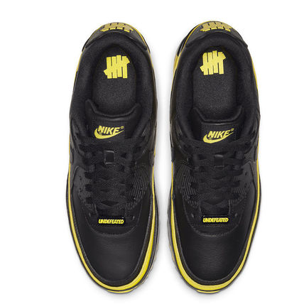 UNDEFEATED スニーカー Nike Air Max 90 Undefeated Black Optic Yellow(3)