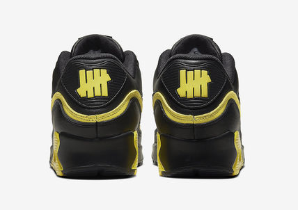 UNDEFEATED スニーカー Nike Air Max 90 Undefeated Black Optic Yellow(4)