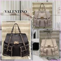 【レア】VALENTINO_women / ROCKSTUD BACKPACK レザーリュック