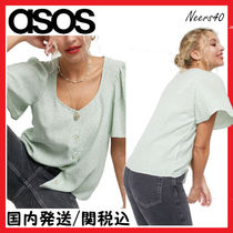 【ASOS】☆& Other Stories☆グリーンフローラルブラウス