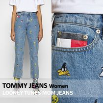 Tommy Jeans :: LOONEY TUNESコラボ マムジーンズ