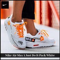 【NIKE】大人気 関税込  Nike Air Max 1 Just Do It Pack White