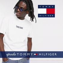 SALE【Tommy Jeans】半袖 バックロゴ Tシャツ ホワイト/送料無料