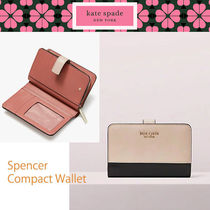 ★kate spade★在庫有り SPENCER コンパクト 2つ折り 財布 即発