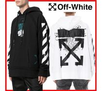 ★送料無料・関税込★OFF-WHITE★DRIPPING ARROWS HOODIE★2色★