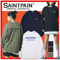 ★送料・関税込★SAINTPAIN★SP VRTN LOGO LONG SLV TEE★